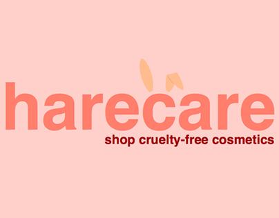 harecare: shop cruelty-free cosmetics App Concept