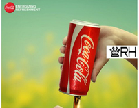 Coca Cola energizing refreshment