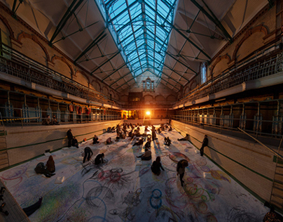 Naomi Kendrick - Drawn to the Beat at Victoria Baths /