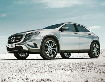 Mercedes GLA - Showcase