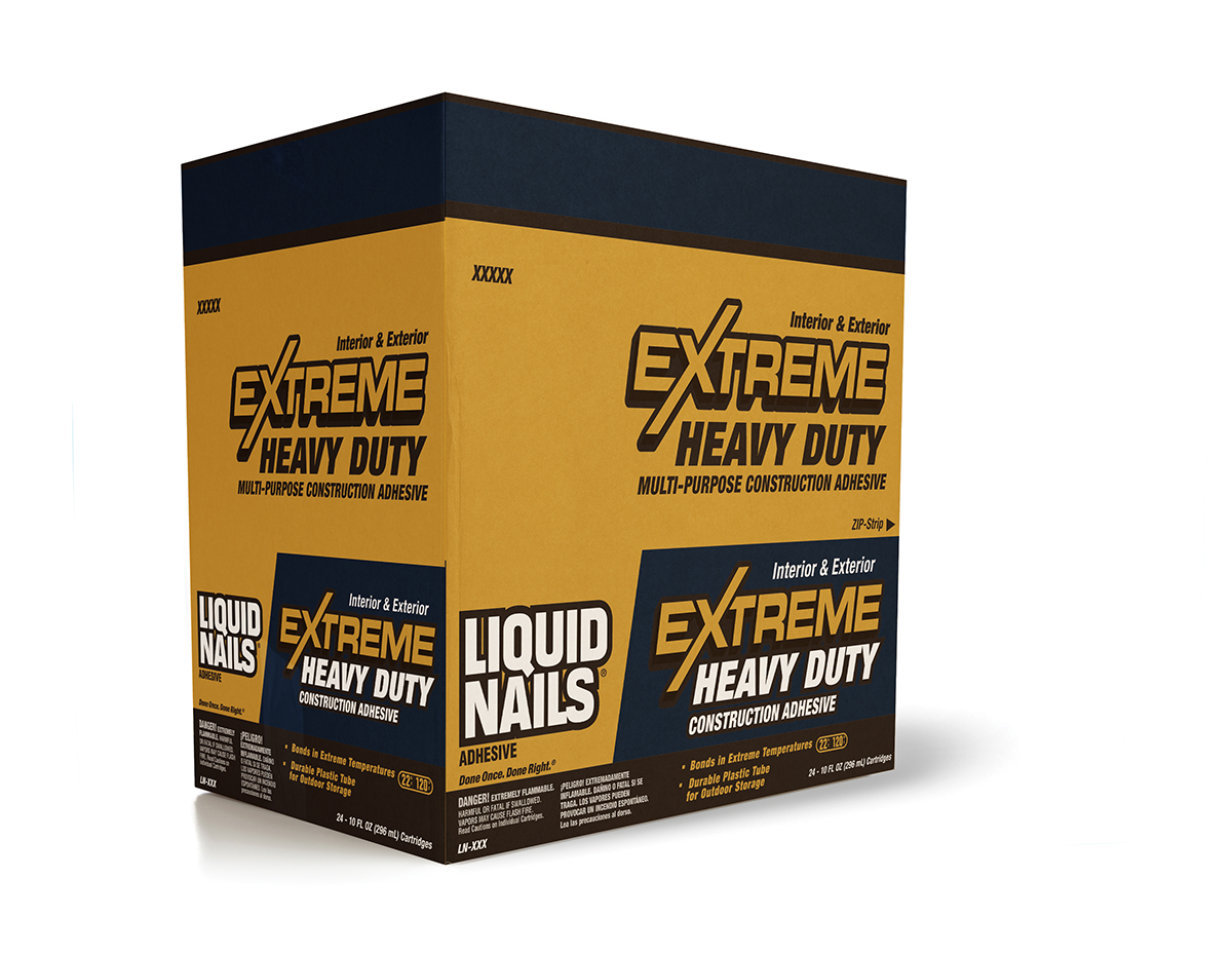 Liquid Nails Extreme Packaging