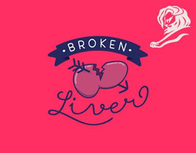 Broken Liver - Hepalive - Natures Garden