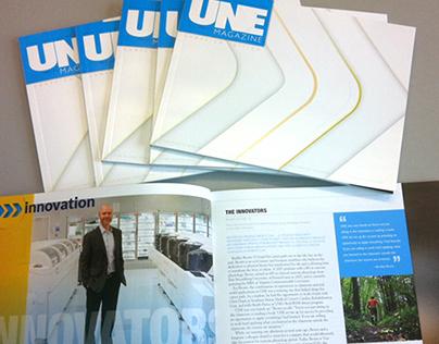 UNE Magazine, Campaign edition