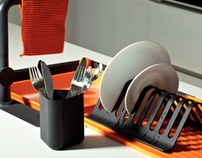 ZONE - Dish rack and cutlery holder