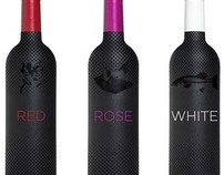 Pop Art Inspired Wine Bottles