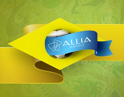 Aplicativo para Facebook - Allia Hotels