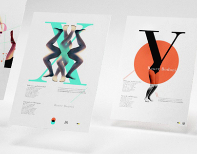 Bauer Bodoni: Poster Series