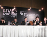 Suede Press Conference in Jakarta
