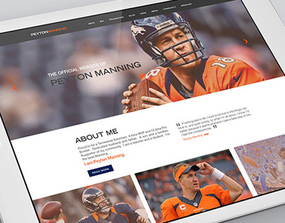 Peyton Mannings Official Website