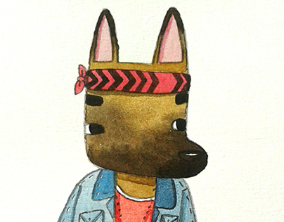 Hipster Dogs.