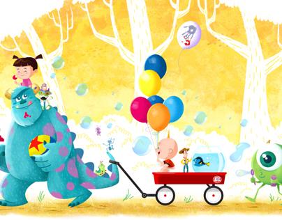 Pixart: Pixar Tribute