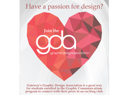 Poster; Gateway Graphic Design Association