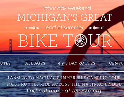 Bike Tour Social Media Poster Redesign