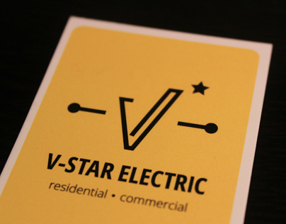 V-Star Electric Logo
