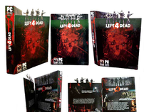 Left 4 Dead Box Design