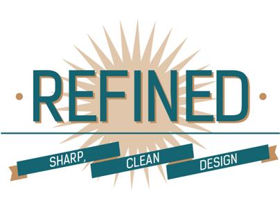 Refined: Sharp, Clean Design