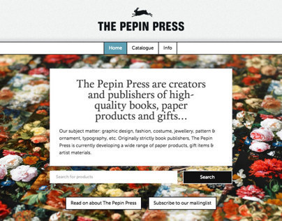 The Pepin Press online catalogue