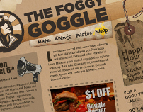 The Foggy Goggle Website