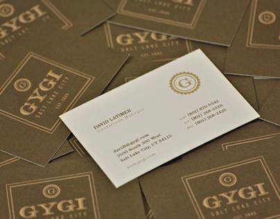 Gygi Brand Identity