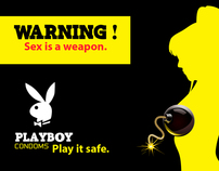 Playboy Condoms Advertising Concept By Muaaz