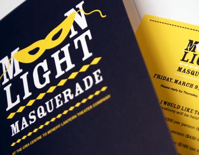 Moon Light Masquerade Invitation