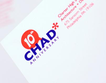 CHAD Tenth Anniversary Logo
