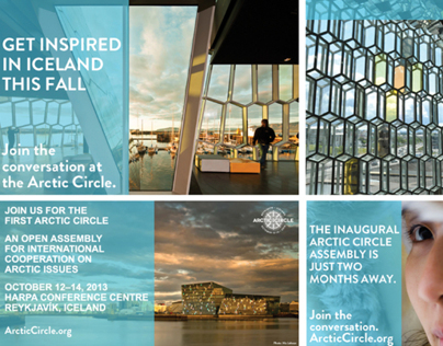 ARCTIC CIRCLE 2013 | Conference Collateral + Promotion