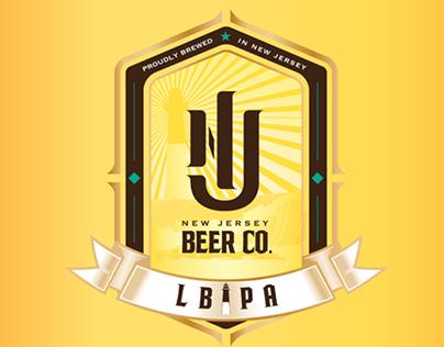NJ BEER CO. | LBIPA Label Design