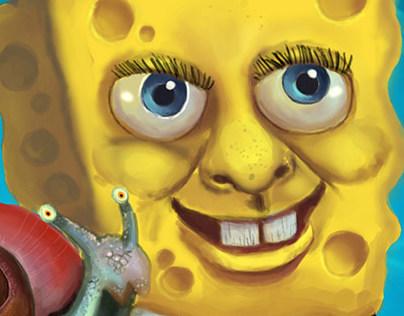 Sponge & Gary Portrait