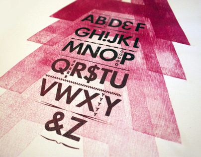 Letterpress & Wood Type Series