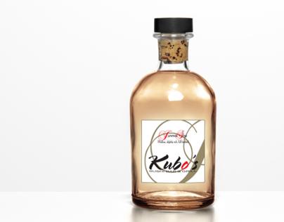 Kubo's Junmai Shu Sake Label