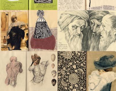 Diaries and workbooks, 2011-2014