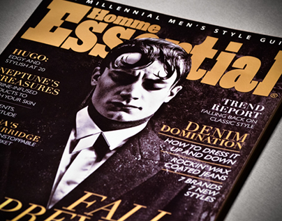 Essential Homme - Magazine Design and Layout
