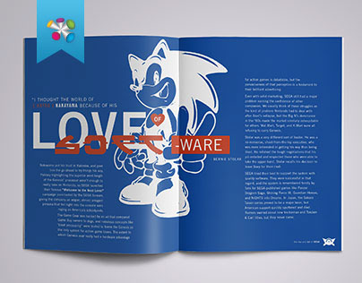 The Rise and Fall of SEGA: magazine layout