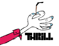 THRILL - Logo Mockups