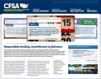 Community Financial Services Association Website