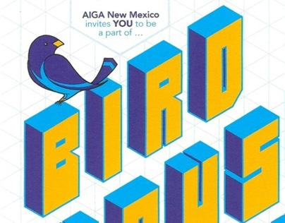 AIGA NM Annual Birdhouse Poster