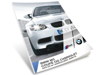 ReDesign of BMW M3 Catalog