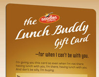 Noodles & Company Lunch Buddy Gift Card