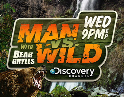 Man Vs Wild - Key Art