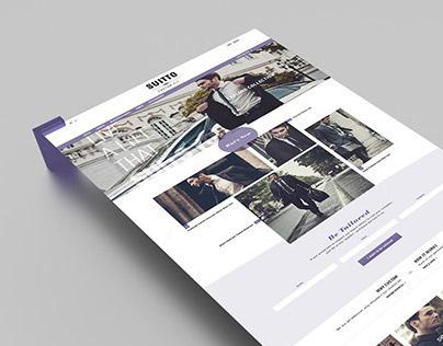 Suitto, Identity and e-comerce Website