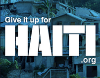 Give It Up For Haiti