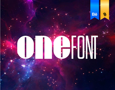 ONE Font  By:YoBa