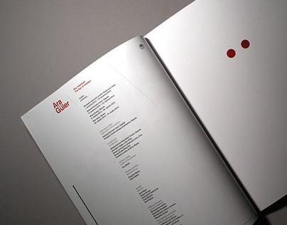Ara Güler Exhibition Catalog