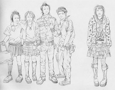 sketch / FRUiTS / 003