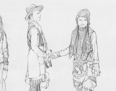 sketch / FRUiTS mag / 005