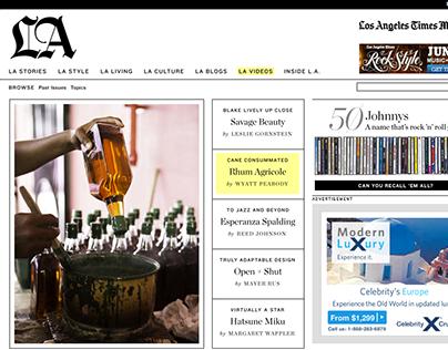 Los Angeles Times Magazine Web