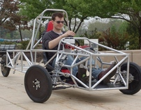 SIUE's New  Solar Car Chassis 2011