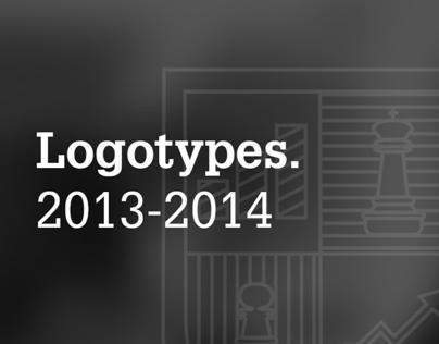 Logotypes. 2013-2014