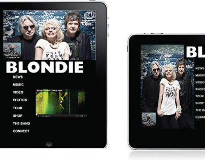 Blondie Website